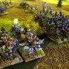 schwed. Flankenangriff auf kaiserliche Kürassiere